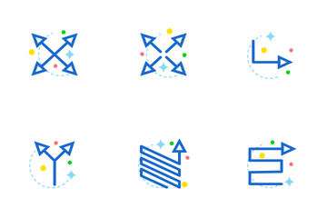 Arrow Flat Icon Pack