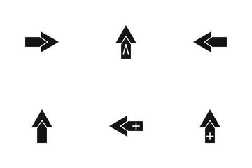 Arrow Glyph P1s3 Icon Pack