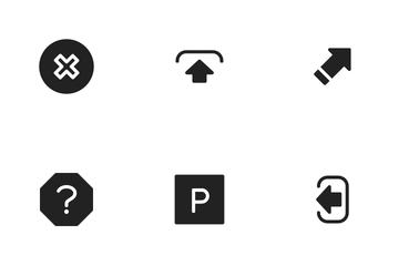 Arrow & Symbols Icon Pack