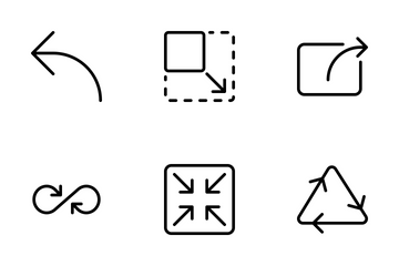 Arrow View Icon Pack