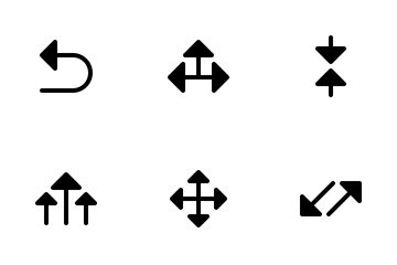 Arrows  02 (Glyph) Icon Pack