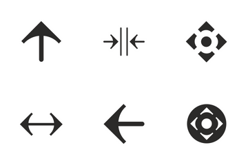 Arrows Action  Icon Pack