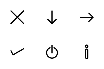 Arrows Line Icon Pack