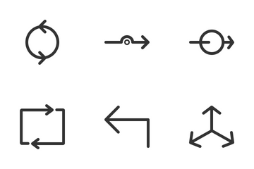 Arrows & Symbols Icon Pack