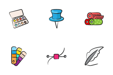 Art And Craft Icon Pack