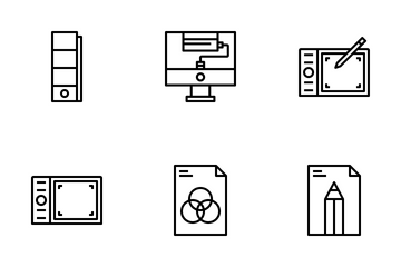Art And Design Element  Icon Pack