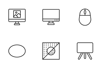 Art Design And Development Icon Pack