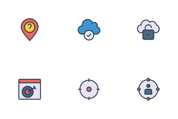 Art Design And Development Line Icons Icon Pack