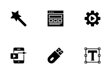 Art Design & Development Icon Pack
