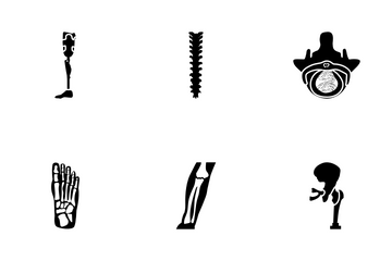 Artificial Body Parts Icon Pack