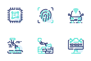 Artificial Intellegence Icon Pack