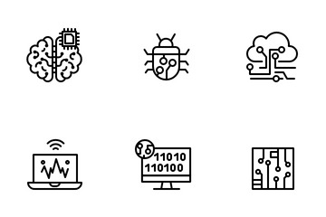 Artificial Intelligence Icon Pack