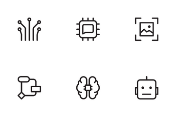 Artificial Intelligent Icon Pack