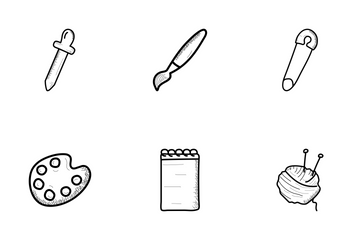 Arts And Crafts Pack 1 Icon Pack