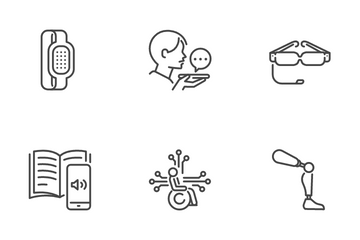Assistive Technology Icon Pack