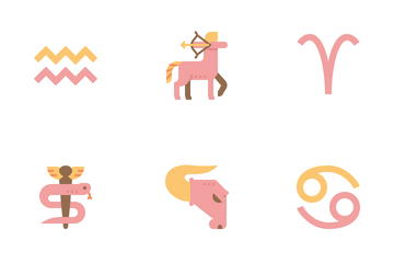 Astrological Sign Icon Pack