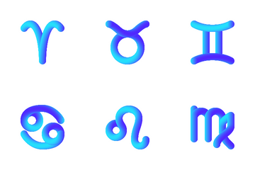 Astrological Signs Icon Pack