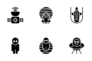 Astronaut Icon Pack