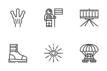 Astronautics And Space Icon Pack
