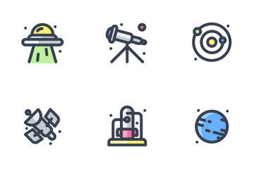 Astronomy Icon Pack