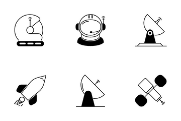 Astronomy & Space Icon Pack