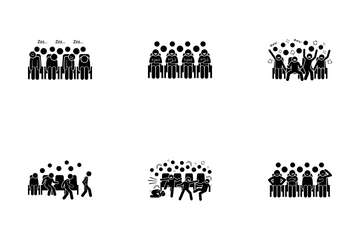 Audience Reaction Icon Pack