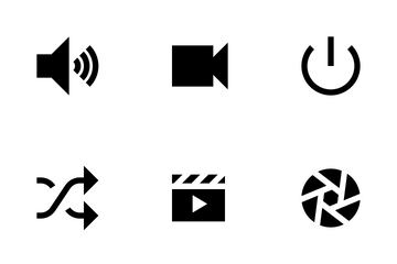 Audio & Video Icon Pack