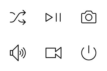Audio & Video Icon Pack