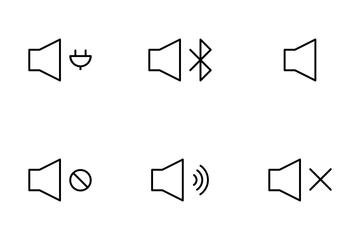 Audio Controls Icon Pack
