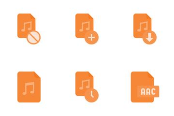 Audio Files Icon Pack