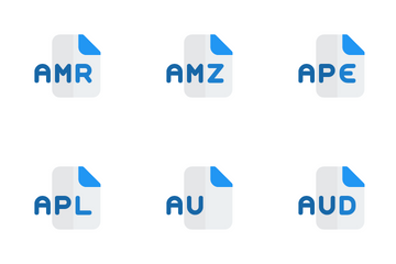 Audio Format Icon Pack