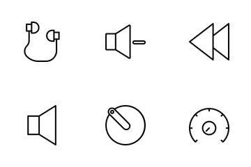 Audio Set Icon Pack