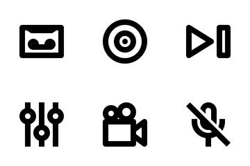 Audio Video Icon Pack