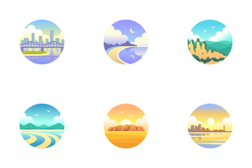 Australia Tourist Attraction - One For The Road Icon Pack