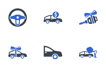 Auto Insurance Icon Pack