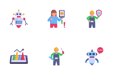Automation Services Icon Pack