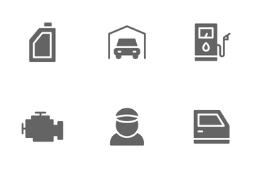 Automobile Icon Pack