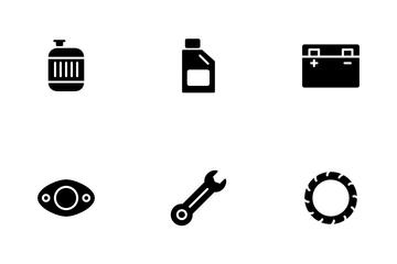 Automobile Parts Icon Pack