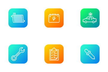 Automobile Services Vol 1 Icon Pack
