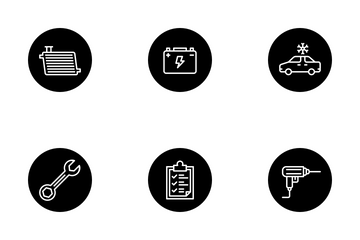 Automobile Services Vol 2 Icon Pack