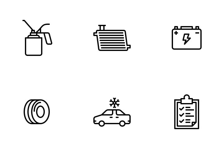 Automobile Services Vol 2 Icon Pack