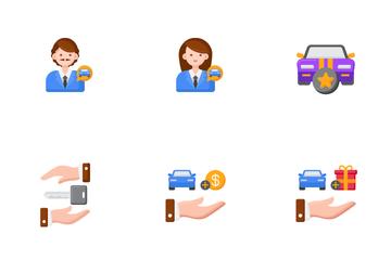 Automotive Dealership Icon Pack