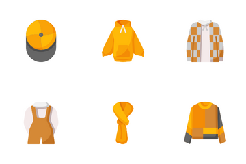 Autumn Clothes Icon Pack