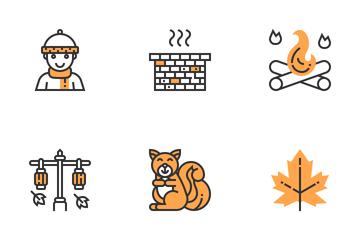 Autumn Elements  Icon Pack