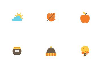 Autumn Flat Icon Pack