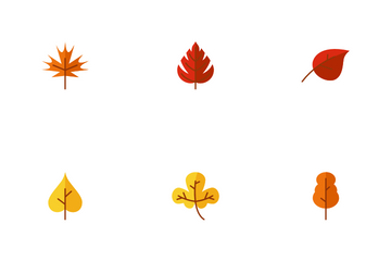 Autumn Leaf Icon Pack