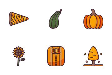 Autumn Season Icon Pack
