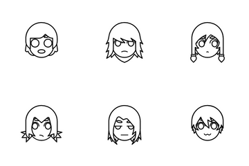 Avatar And Emotion Icon Pack
