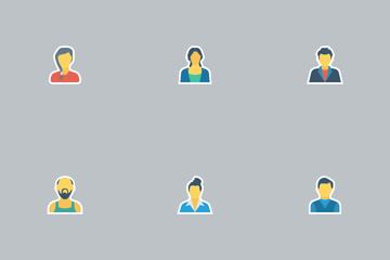 Avatar Flat Icon Icon Pack