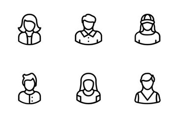 Avatars 1 Icon Pack
